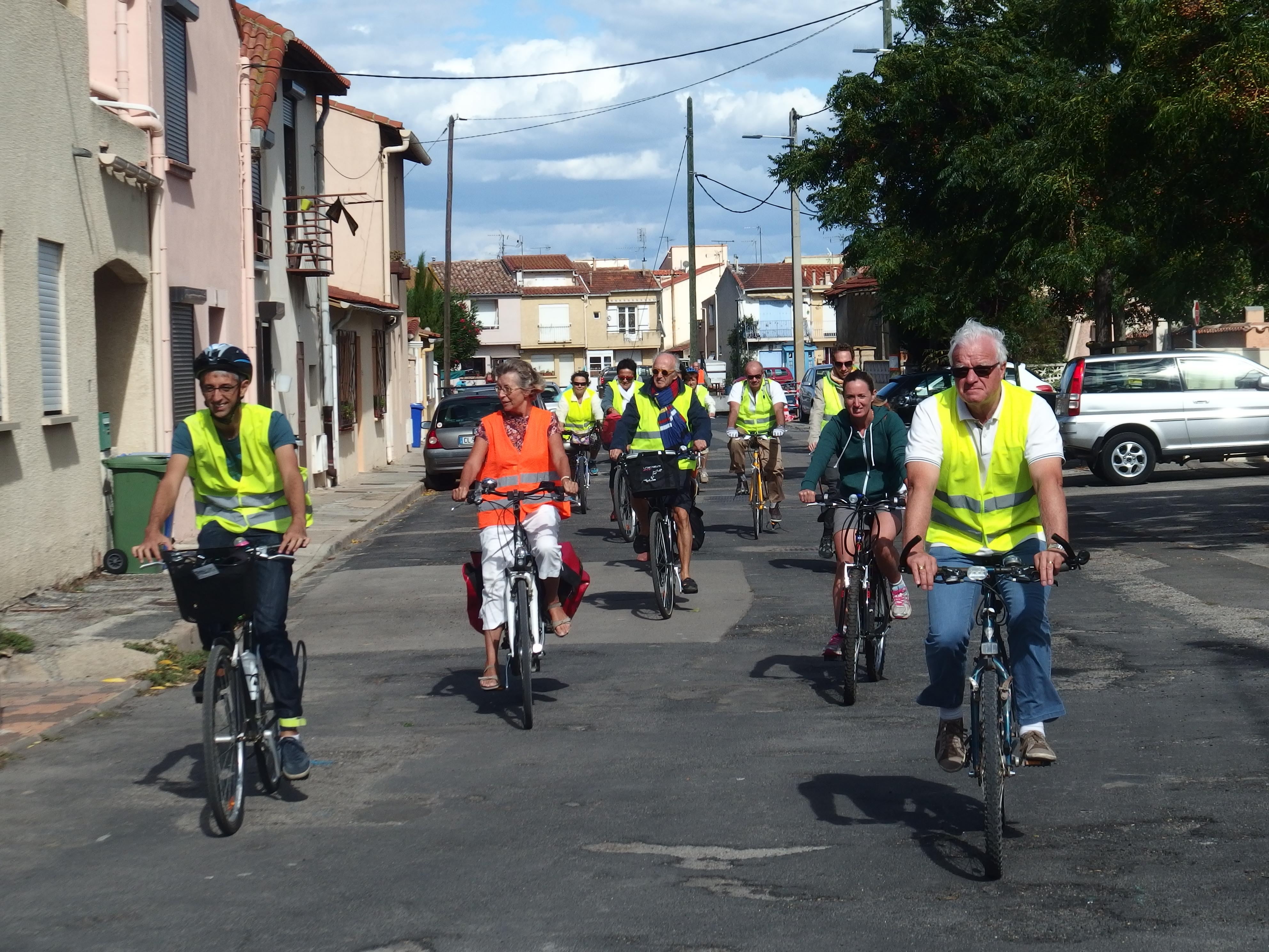 Balade à vélo à la Plagette