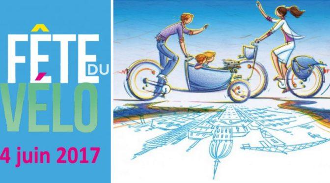 Balade pour la fête du vélo le 4 juin