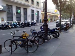 Arceaux vélo