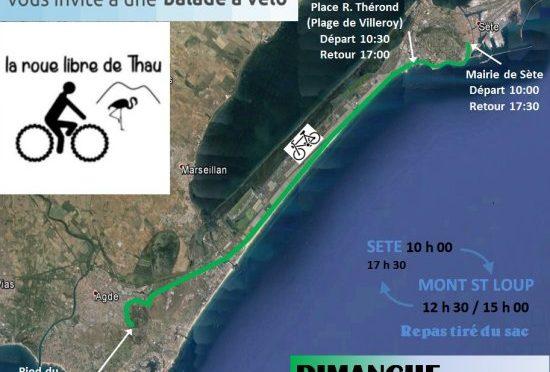 Balade à Agde le 6 novembre