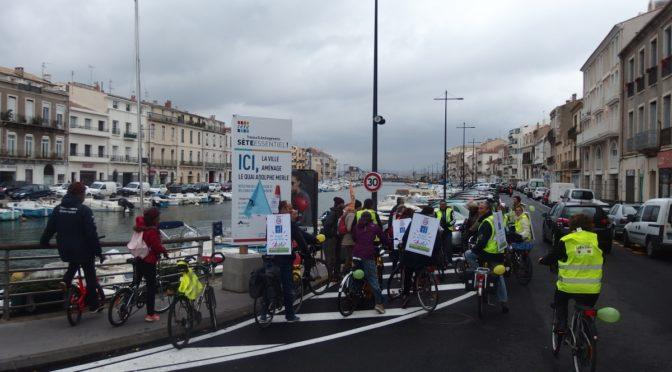 Grands travaux à Sète, quelle place pour les vélos ?