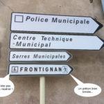 Signalisation sur le Quai des Moulins