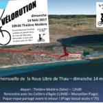 Vélorution et balade à Marseillan-Plage le 14 mai