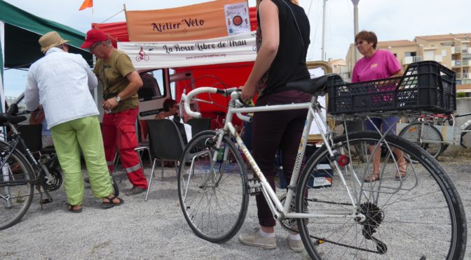 Deux ateliers vélos pour les adhérent.e.s