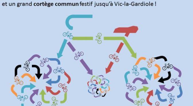 Convergence à Vic à Vélo le 1er octobre, toutes les infos
