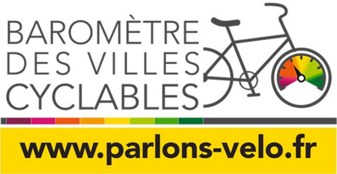 Bannière du baromètre des villes cyclables