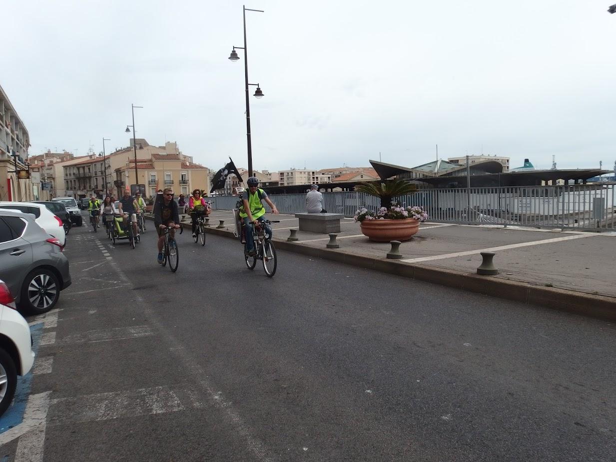 La Promenade JB Marty à Sète