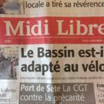 Le Midi Libre relaie l'enquête Baromètre cyclable