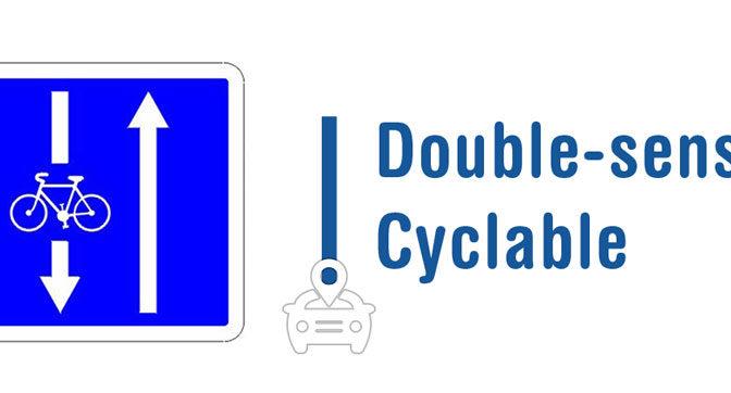 Zone 30 et double sens cyclable