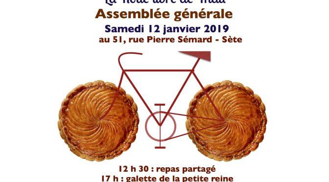 Assemblée générale de la Roue libre de Thau : samedi 12 janvier 2019