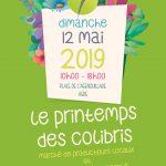 Printemps des Colibris à Agde dimanche 12 mai