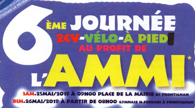 Participez à la journée de l'AMMI les 25 et 26 Mai