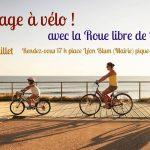 A la plage à vélo, samedi 6 juillet