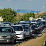 La Roue libre de Thau a été recue par le maire de Sète président de Sete Agglopôle Méditerranée