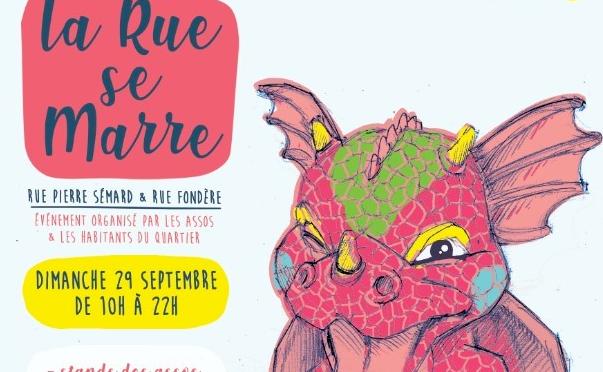 Venez Fêter La Rue Se Marre ! Dimanche 29 septembre