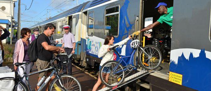 Train + vélo, le couple gagnant