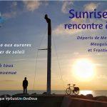 Lever du soleil à Palavas, dimanche 9 février