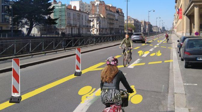 La Roue libre de Thau ecrit au président de l'agglo pour des pistes cyclables temporaires