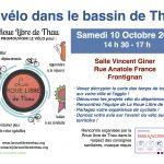 Le vélo dans le bassin de Thau : rencontre le 10 octobre à Frontignan