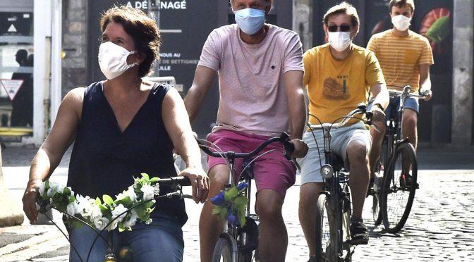 Vélo et port du masque