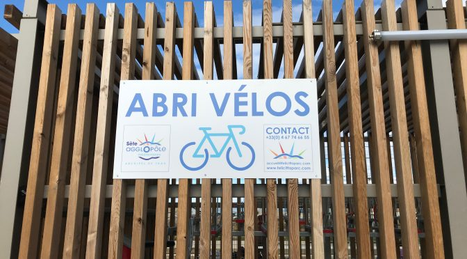 Abri vélo sécurisé en gare de Sète