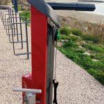 Un totem pour réparer son vélo aux Quilles