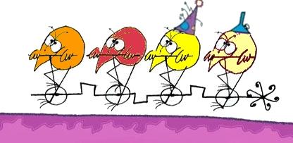 Bonne année à vélo
