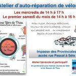 Ré-ouverture de l'atelier vélo de Sète
