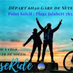Lever de soleil à vélo