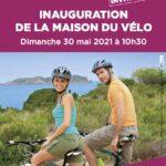 Inauguration de la Maison du vélo à Bessilles, la Roue libre de Thau y était