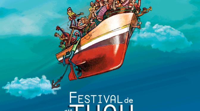 Jeudi 22 Juillet, Festival de Thau avec la Roue libre